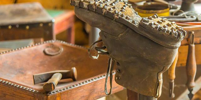 駅から近くて安い靴修理店
