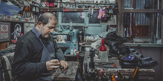 安い靴修理店